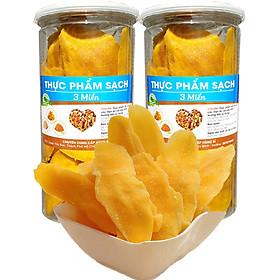 1Kg xoài sấy dẻo chua ngọt thơm ngon chứa nhiều dưỡng chất rất tốt cho sức khỏe