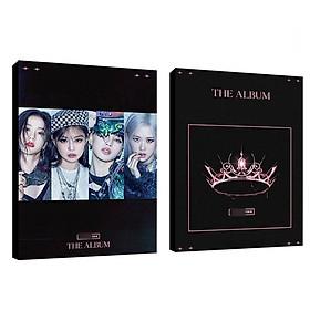 ( Mẫu 120 ) Album ảnh photobook BLACKPINK THE ALBUM mẫu mới tặng kèm poster
