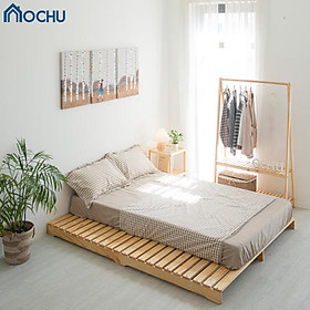 Giường Ngủ Pallet Gỗ Thông OCHU - Pallet Bed - Natural