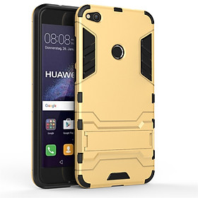Hình đại diện sản phẩm Case for Huawei P8 LITE 2017 lite with Stand Back Cover Solid Colored Hard PC Material