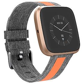 Canvas Watch Strap for Fitbit Versa 2/versa/versa lite
