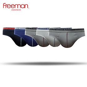 Combo 5 Quần lót nam Freeman chất liệu cotton thoáng mát, giá thành rẻ, co giãn 2 chiều, giao màu ngẫu nhiên BO303