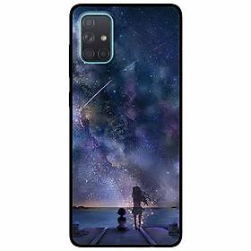 Ốp lưng dành cho Samsung A51 mẫu Mơ Hồ