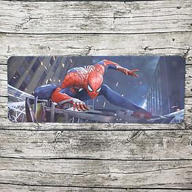 Lót chuột Spider Man Far From Home Siêu ngầu chất lừ kích thước 80x30cm lót được phím và chuột cho góc bàn thêm sạch đẹp