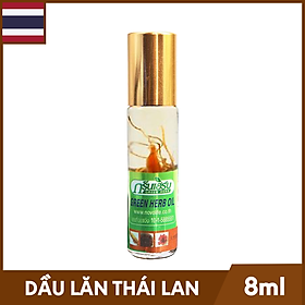 Dầu Lăn Thái Lan Thảo Mộc Green Herb Oil -...