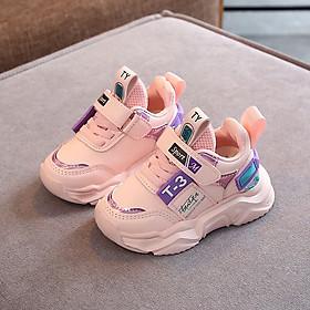 Giày thể thao cho bé gái 1 - 5 tuổi đế Eva nhẹ kháng khuẩn đi học đi chơi thời trang và năng động GE95