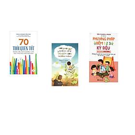 Combo 3 cuốn sách: 70 Thói Quen Tốt - Trong Việc Dưỡng Con Theo Phương Pháp Shichida + Nói Sao Để Khích Lệ Và Giúp Con Trưởng Thành  + Phương Pháp Đếm 123 Kỳ Diệu Cho Giáo Viên