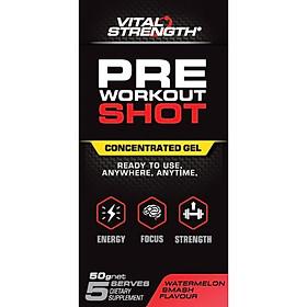 VitalStrength Pre Workout Shot Watermelon Smash 5 Pack