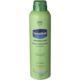 Vaseline Intensive Care Spray & Go Moisturiser Aloe 190g