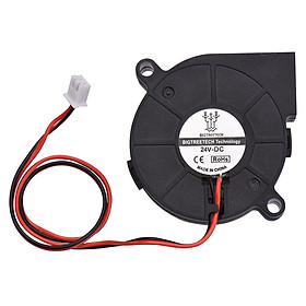BIGTREETECH 5015 Cooling Fan 50x50x15mm 12V/24V Brushless Fan Blower Fan 2-Pin Connector for 3D Printer Parts
