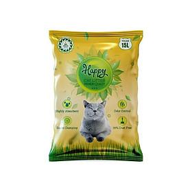 Cát vệ sinh cho mèo Happycat 15L siêu khử mùi kháng khuẩn