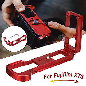 Quick Release L Plate Bracket Mount Grip For Fuji X-T3 Fujifilm XT3 ARCA