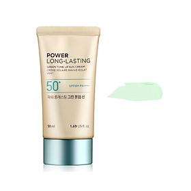 THE FACE SHOP Power Long-Lasting Green Tone Up Sun Cream 50ml