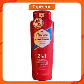 Sữa Tắm Gội Toàn Thân Cho Nam Old Spice Hair & Body Wash 532ml