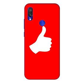 Ốp lưng dành cho điện thoại Xiaomi Redmi Note 7 hình Bạn là Số 1 - Hàng chính hãng