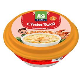 Cháo Tươi Baby Cua & Đậu Hà Lan SG Food (240g)