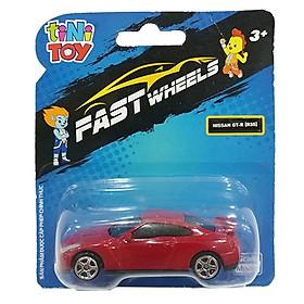 Đồ Chơi Xe Tốc Độ FastWheels 3 Inch - 342000S - Nissan GT-R (R35) - Màu Đỏ