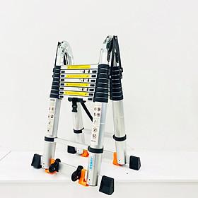 Thang Nhôm Rút Chữ A JUMBO A280 - Chữ A cao 2.8m, chữ I cao 5.6m, tải trọng 300kg