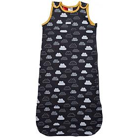 Túi ngủ 3 lỗ chất cotton họa tiết mây cho bé yêu