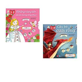 Combo Sách Dựng Hình 3D: Những Nàng Tiên Và Các Nàng Công Chúa + Cậu Bé Cưỡi Rồng