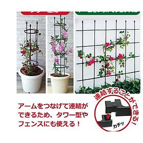 KHUNG HOA BỤI ĐA CHỨC NĂNG  - KHUNG TRỒNG CÂY, GIÁ ĐỠ - Dùng để làm khung giá đỡ cho cây hoa leo, hoa hồng leo