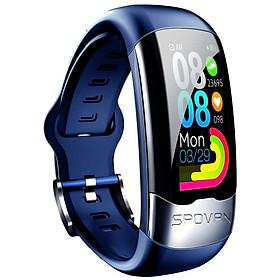 Đồng hồ thông minh đo nhịp tim, theo dõi tập thể dục huyết áp, vòng đeo tay tập thể dục, theo dõi giấc ngủ, cảm ứng đầy đủ