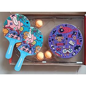 Bộ bóng bàn phản xạ cho trẻ em không cần bàn