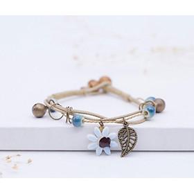 Bracelet Handmade Bracelet Creative Ceramics Flower Accessories Jewelry Women