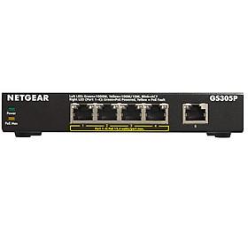 Bộ Chia Mạng 5 Cổng Switch Netgear GS305P 5 Port Gigabit Ethernet Unmanaged Switch with 4-Port PoE - Hàng Chính Hãng