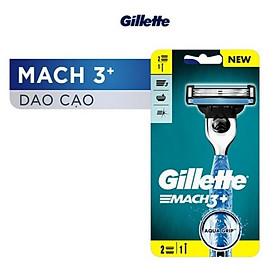 Dao cạo Gillette Mach3 2 lưỡi