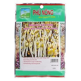Hạt Giống Mầm Giá Đậu Xanh Phú Nông (100g / Gói)