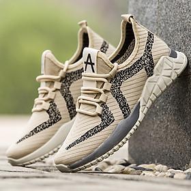 Giày Thể Thao Nam Phong Cách Sneaker Trẻ Trung Năng Động Chất Liệu Vải Đế Cao Su Non Đi Cực Êm Giày Rẻ 2021 - BOM032