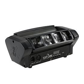 Đèn Tia LED RGBW Sân Khấu Xoay Đầu Bản Nâng Cấp Tomshine DMX512 Hỗ Trợ 10/14CH Kênh Âm Thanh (40W)