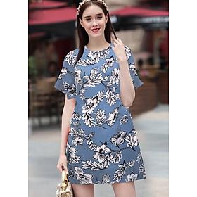 Đầm Suông Chữ A In Hoa Trẻ Trung Siêu Việt T&T Fashion - SVTGT2162