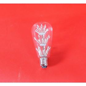Bóng đèn led trang trí hình ST64, đèn trang trí độc đáo hàng chính hãng