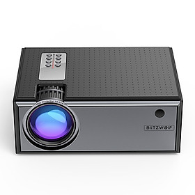 Blitzwolf BW-VP1 LCD Projector 2800 Lumens Support 1080P Input Multiple Ports Portable Smart Home Theater Projector With Remote Control