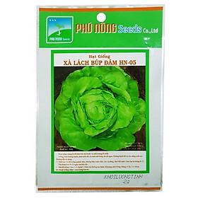 Hạt giống Xà lách búp đăm HN-05 Phú Nông - Gói 2gram