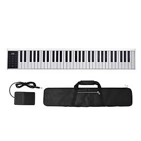 61 Keys Digital Electronic Piano Keyboard MIDI Output 128 Tones 128 Rhythms 14 Demo Songs Recording Programming Playback