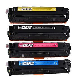 Mực in laser màu đen CB541A.Hộp mực máy in Hp CP1215, HP CM1312nfi, HP CP1515n, HP CP1518, Canon LBP 5050 (Hàng Chính Hãng)