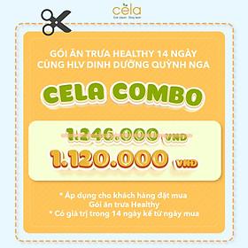 Gói ăn 14 suất Celadetox- trải nghiệm đồ ăn healthy tại nhà hàng dinh dưỡng số 1 Việt Nam- công thức lên bởi Huấn luyện viên dinh dưỡng theo phương thức eatclean