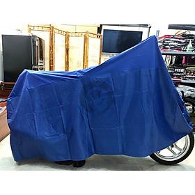Áo phủ che xe máy loại tốt bền màu xanh dương PKXM003