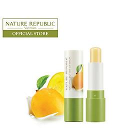 Son dưỡng môi NATURE REPUBLIC Natural Butter Lip balm 04 MANGO 4g