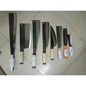 Bộ dao nhà bếp 8 món chặt cây - chặt xương - chặt gà - dao thái thịt