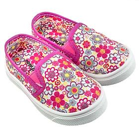 Giày Lười Bé Gái Disney OK1405 Hồng