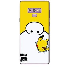 Ốp lưng dành cho điện thoại  SAMSUNG GALAXY NOTE 9 hinh Big Hero Pikachu