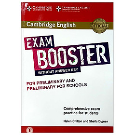 Cam English Exam Booster for Preliminary and Preliminary for Schools w/o Ans Key w Audio