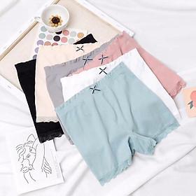 Combo 3 quần lót mặc váy thun cotton thoáng mát | SON'WM