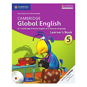 Cambridge Global English Stage 5: Learner Book with Audio CD
