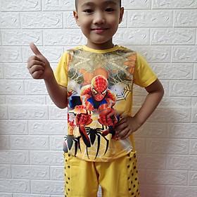 Bộ bé trai siêu nhân in 3D kèm áo choàng