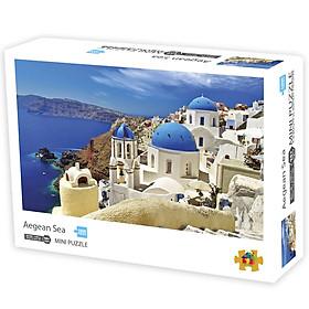Ghép hình mini puzzle 1000 miếng cao cấp 42x30cm